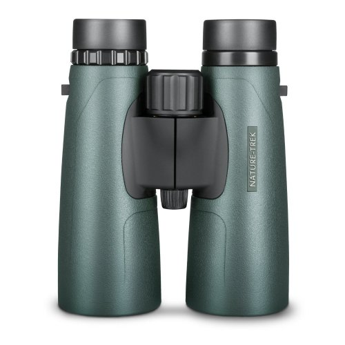 Hawke Nature Trek Binoculars - BAK 4 Roof Prism - 12x50 Green - latest version