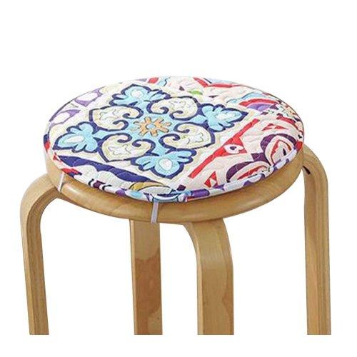 [C] Soft Round Stool Cover Bar Stool Seat Pad