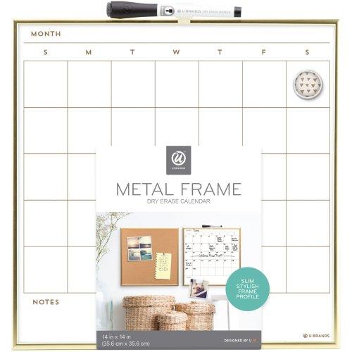 "Gold Frame Calendar-11""X14"""