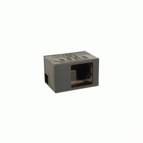 Qpower QBOMB12VL SINGLE SQ 12 in. Single Side Vented Speaker Box, Extra Large SPL - Black