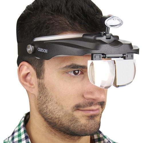 Carson MagniVisor Deluxe Head Visor/Magnifier-