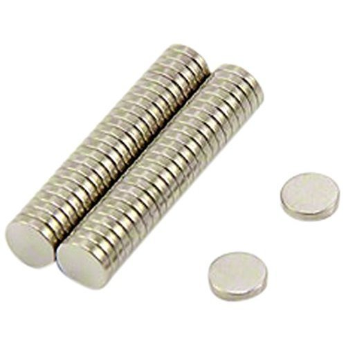 5mm dia x 1mm thick N35 Neodymium Magnet - 0.2kg Pull ( Pack of 50 )
