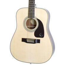 Epiphone DR-212 Dreadnought 12 String Acoustic Guitar, Natural