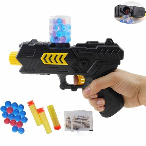 Outdoor Toys Battle Shooting  2-in-1 Water Gel Ball Blaster