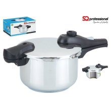 SQ Professional Stainless Steel Pressure Cooker 19cm - 4L