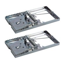 Fixman Metal Mouse Trap 2pk 115 x 60mm -  mouse metal trap x fixman 60mm traps pest 115 mice rodent control 197115 bait vermin reuseable 2pk