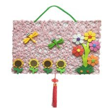 DIY Nursery Decoration Hand Made Cloth Product (Dragonfly and Flower)