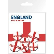 England Flag Badge Pack