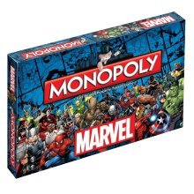 Marvel Universe Monopoly Family Board Game Brand New Sealed
