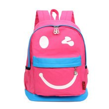 Smiling Face Little Kid Backpack Kids Boys Girls Backpack,pink