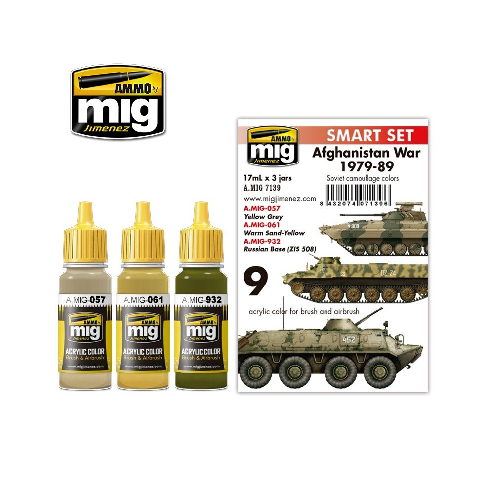 Ammo by Mig Afghanistan War Acrylic Paint Set