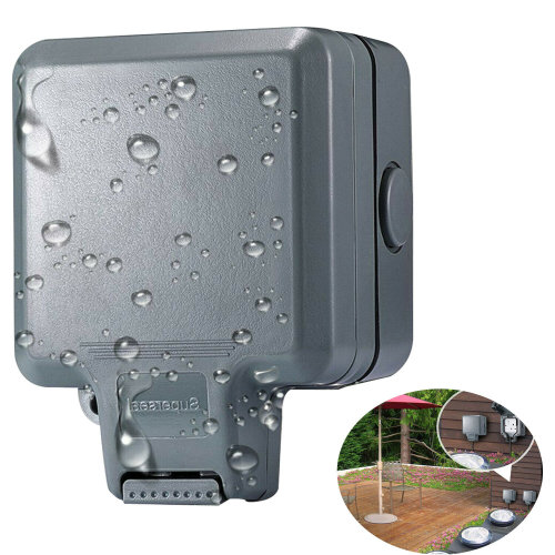 Waterproof Single Socket Outdoor 13A IP66 Storm Switched Use Box