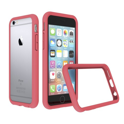 newest 2b81c e5871 RhinoShield Bumper Case FOR IPHONE 6 / IPHONE 6s [NOT Plus] [CrashGuard] |  Shock Absorbent Slim Design Protective Cover [3.5 M / 11ft Drop...