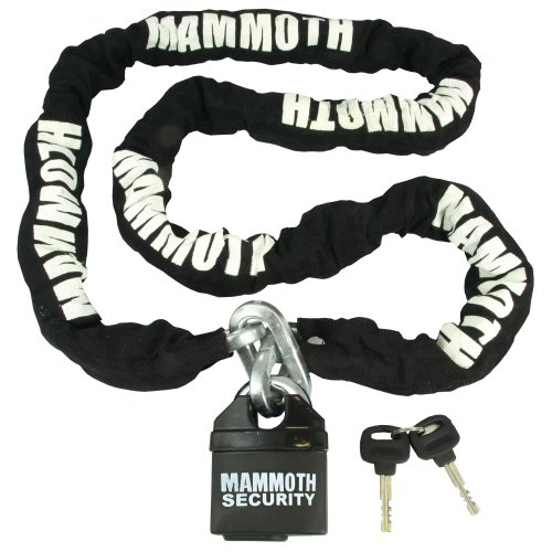 Motorcycle Scooter Security Chain & Padlock 10mm