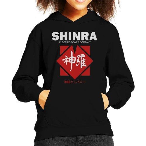 Shinra Electric Power Company Final Fantasy VII Kid's Hooded Sweatshirt