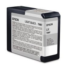 Epson Ink Cartridge 80ml - Light Black
