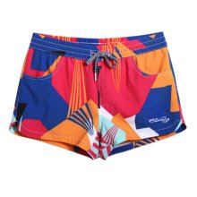 Quick-drying Beach Pants Women's Vacation Swimsuit Beach shorts,L Size,C5