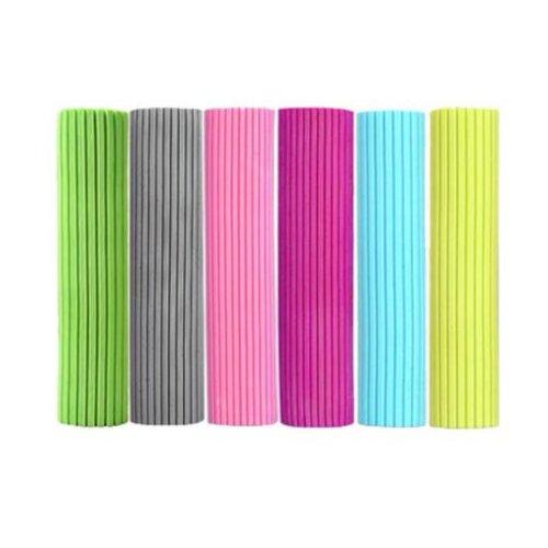 6PCS Kitchen + Home Super Absorbent PVA Roller Sponge Mop Head Refill,Color is Random