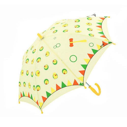 Kids Umbrella - Childrens  Rainy Day Umbrella /Girl With Umbrella