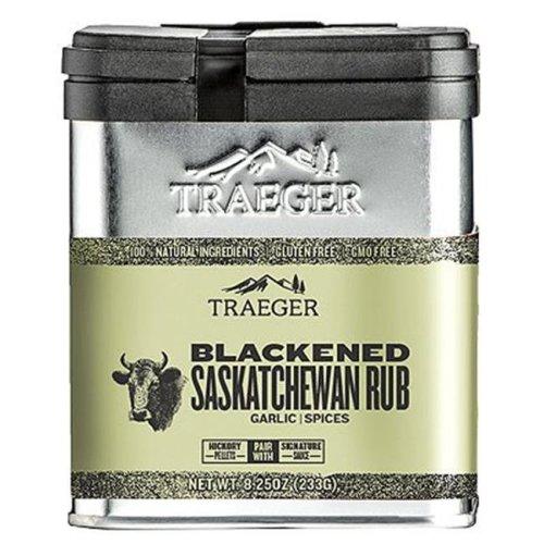 Traeger Pellet Grills 238593 8.25 oz Blackened Saskatchewan Rub