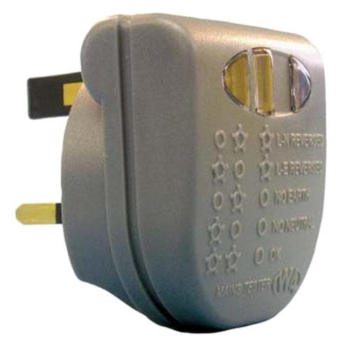 W4 Caravan/Motorhome Mains Tester (UK Plug)