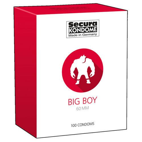 Big Boy Condoms - 100 Pieces  Pharmacy Condoms - Secura Kondome