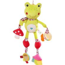 Multifunctional Baby Toys Bed Bell Car Hanging Bed Appease Dolls Doll Dental Tap