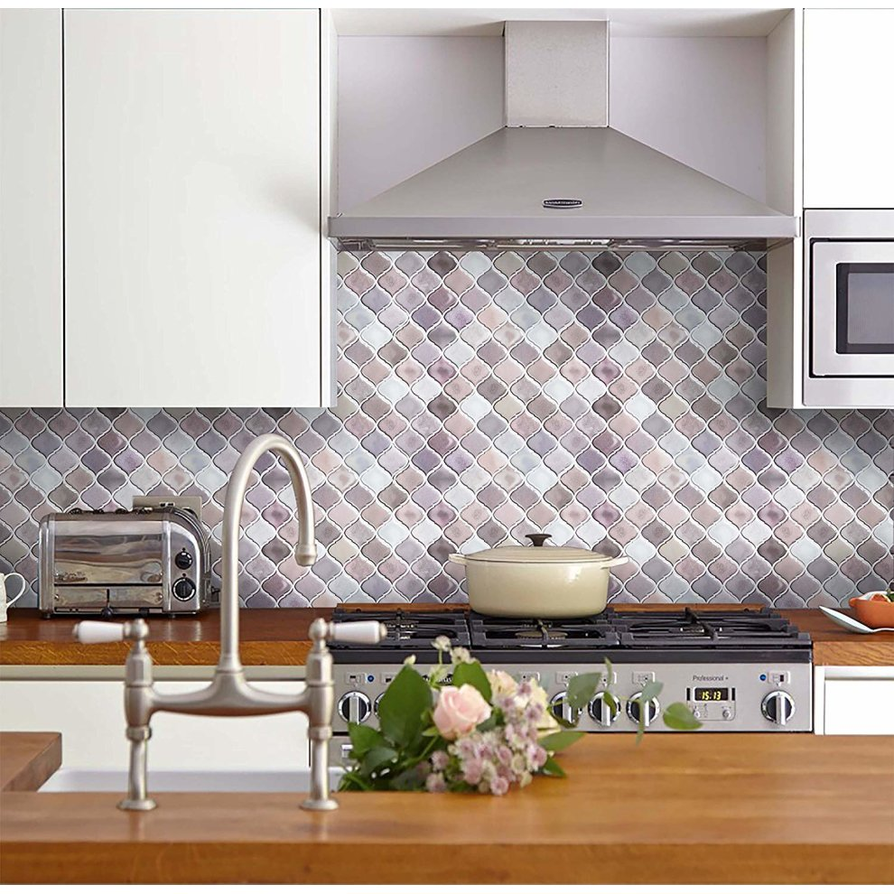 Peel And Stick Tile Stickers 3d Tiles Waterproof
