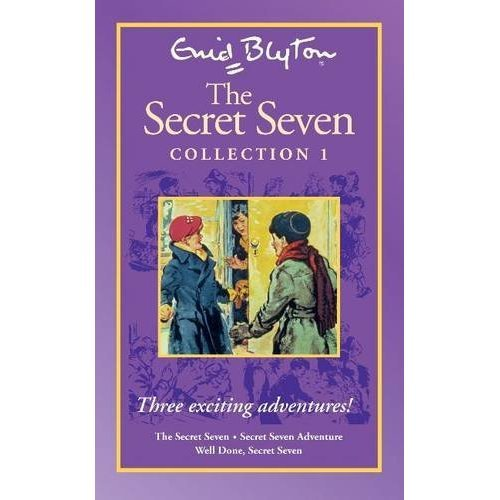 TESCO Secret Seven Collection 1 (1-3)