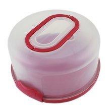 Multifunction Plastic Cake Carrier Cake Box, Home Baking, Red, Baking Supply