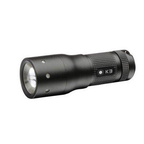 LED Lenser 8313 K3 Black Key Ring Torch Gift Box