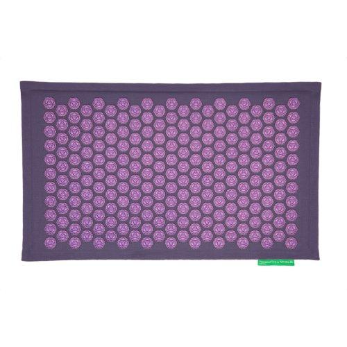 Pranamat Eco Massage Mat - Grey Violet / Violet