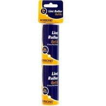3m Pack Of 2 Lint Roller Refills - Korbond x 3 M New -  lint roller korbond refills 2 x 3 m new
