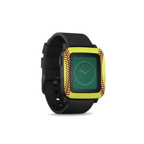 DecalGirl PSWT-SOFTBALL Pebble Time Smart Watch Skin - Softball