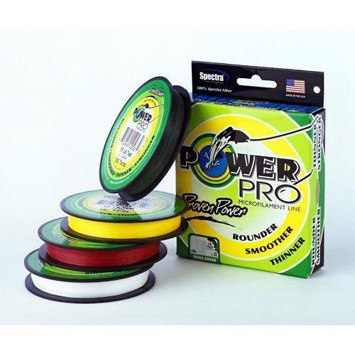Power Pro Spectra Fiber Braided Fishing Line, Moss Green, 150YD/40LB