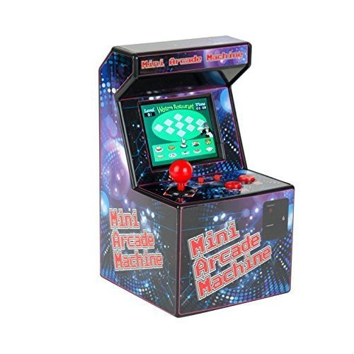 Mini Arcade Machine - Games Funtime Toy Retro Et7850 240 16 Bit Desktop 80s -  mini arcade machine games funtime toy retro et7850 240 16 bit desktop