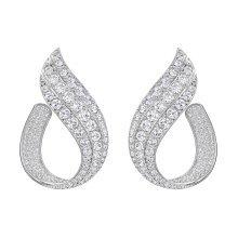 Swarovski Fortunately Hoop Pierced Earrings - 5222259