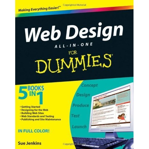 Web Design All-in-one For Dummies (For Dummies (Computers))