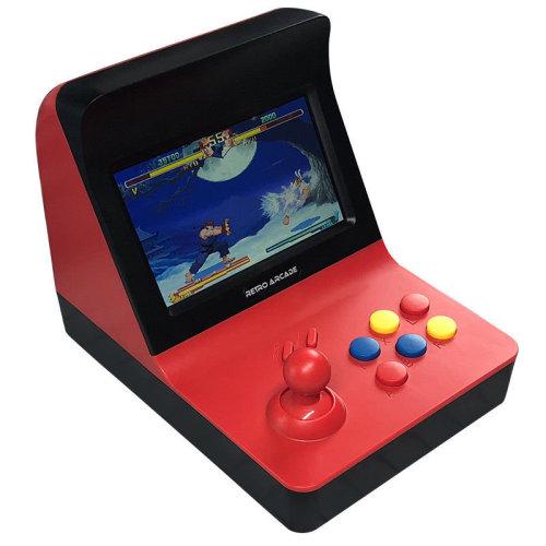 Mini Retro Arcade Game Machine With 3000 Classic Games - Black