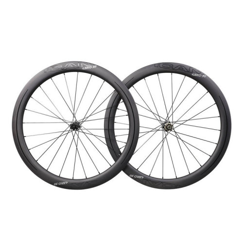 ICAN Carbon Road Bike Wheels AERO 50 Disc