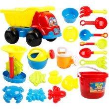 Kid's Beach Sand Toys Baths Pools Set 19PCS