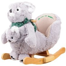 Rocking Animal - Australian Koala Animal Rocker for Baby Childrens boys girls with sounds and Baby Kangaroo