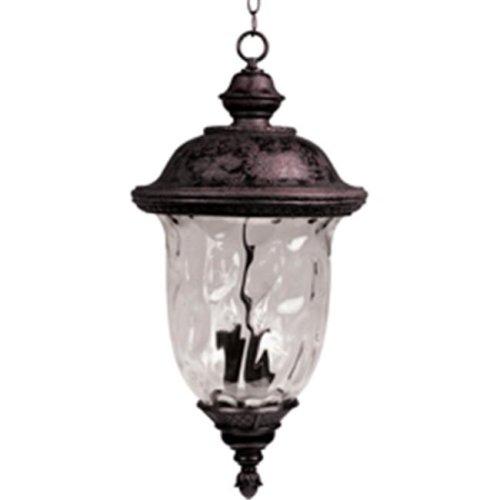 Maxim Lighting 40427WGOB Carriage House VX 24.5'' H 3-Light Outdoor Hanging Lantern - Oriental Bronze