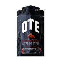 Ote Soya Powdered Protein Recovery Drink 14 x 52g (strawberry) - Strawberry -  ote soya protein recovery drink strawberry 14 x 52g cycling training