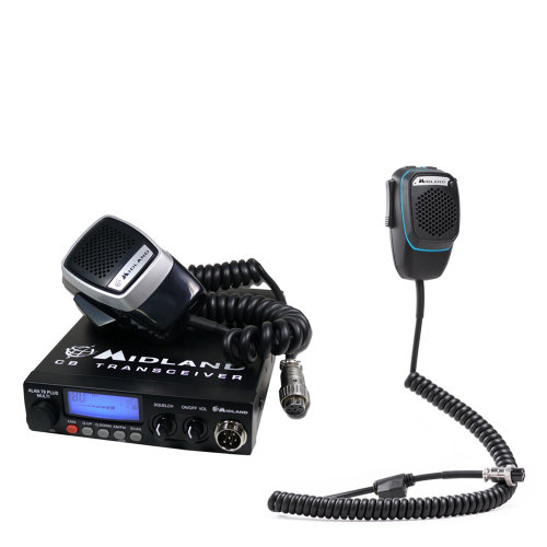 CB Radio  Midland Alan 78 Plus Multi + Dual Mike with 6-pin Bluetooth