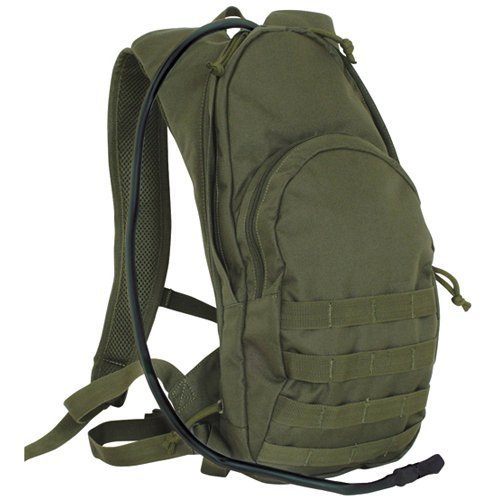 Fox Outdoor Products Compact Modular Hydration Backpack, Olive Drab