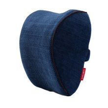 1Pair Car Head Support Pillow Seat Neck Rest Pillow Headrest Neck Pillow-Navy