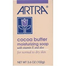 ARTRA Cocoa Butter Moisturizing Soap, 3.6 Ounce