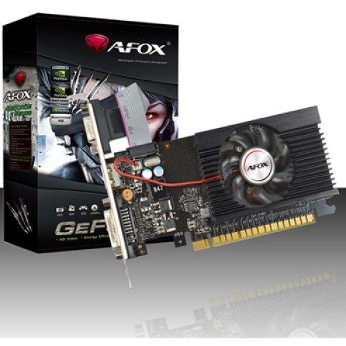 Afox Geforce Gt710 2Gb 64Bit Ddr3 Low Profile Single Fan Pci-E Graphics Car AF710-2048D3L5-V3