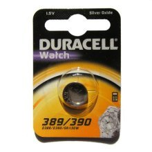 Duracell D389 Silver-Oxide (S) 1.5V non-rechargeable battery
